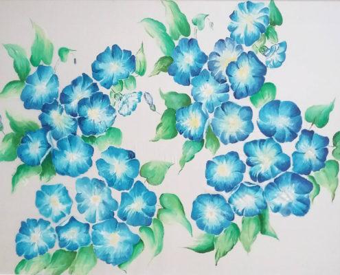 Fiori Azzurri.Vera Lowen Quadri Archivi Meloarte