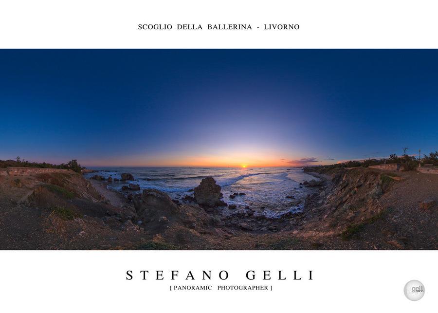 Stefano Gelli Scoglio della Ballerina - Meloarte